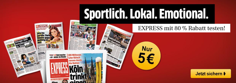 EXPRESS 1 Monat für 5 € lesen