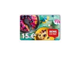 15 € REWE-Gutschein