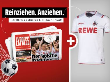 24 Monate täglich lesen + Heimtrikot des 1. FC Köln