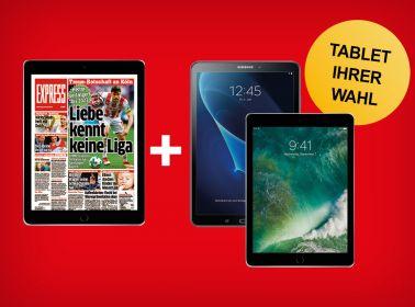 Täglich lesen + Tablet Ihrer Wahl